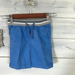 GAP 3T Blue Shorts and V-neck T-shirt